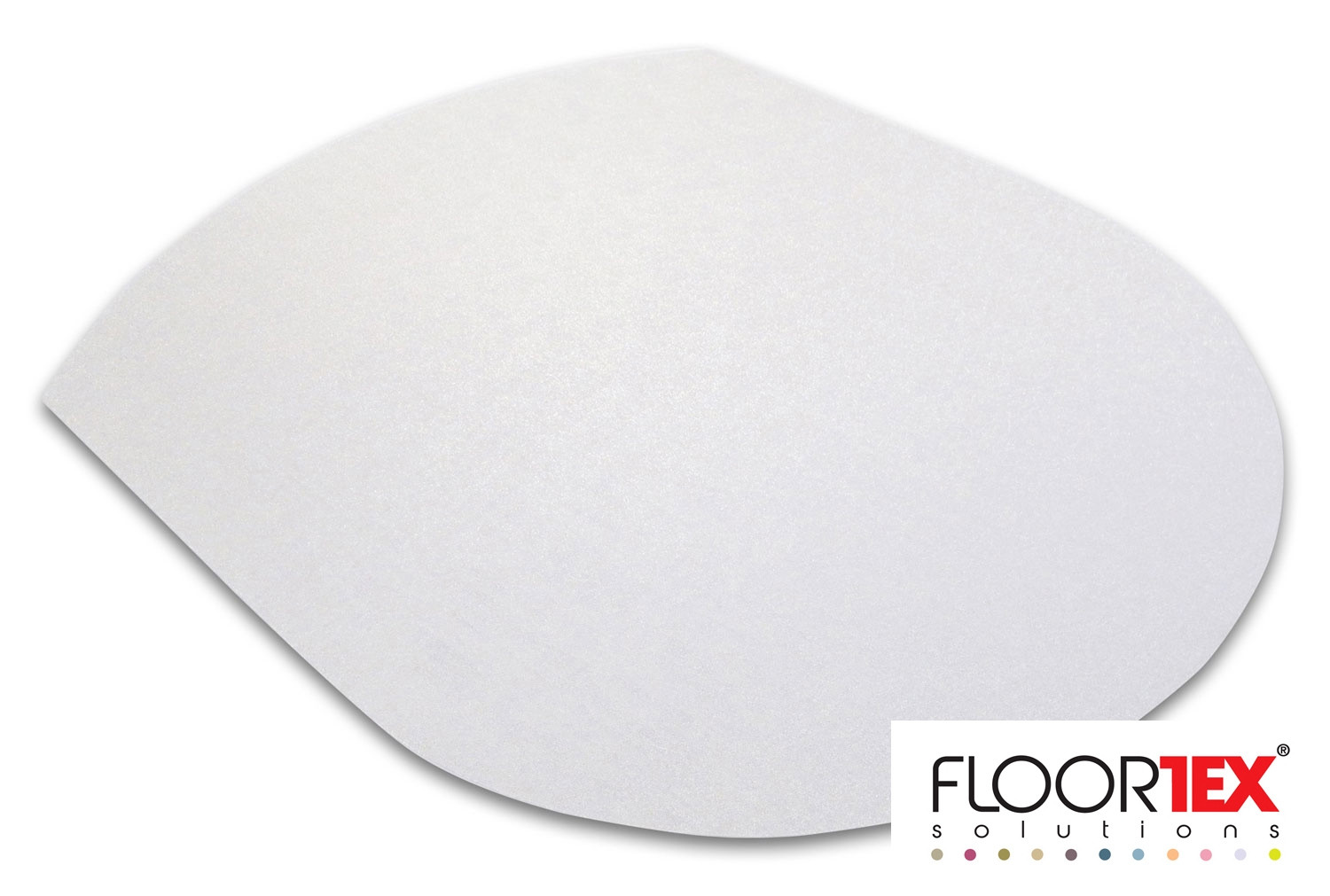 Cleartex Ultimat Poly Contoured Chair Mat For Hard Floors
