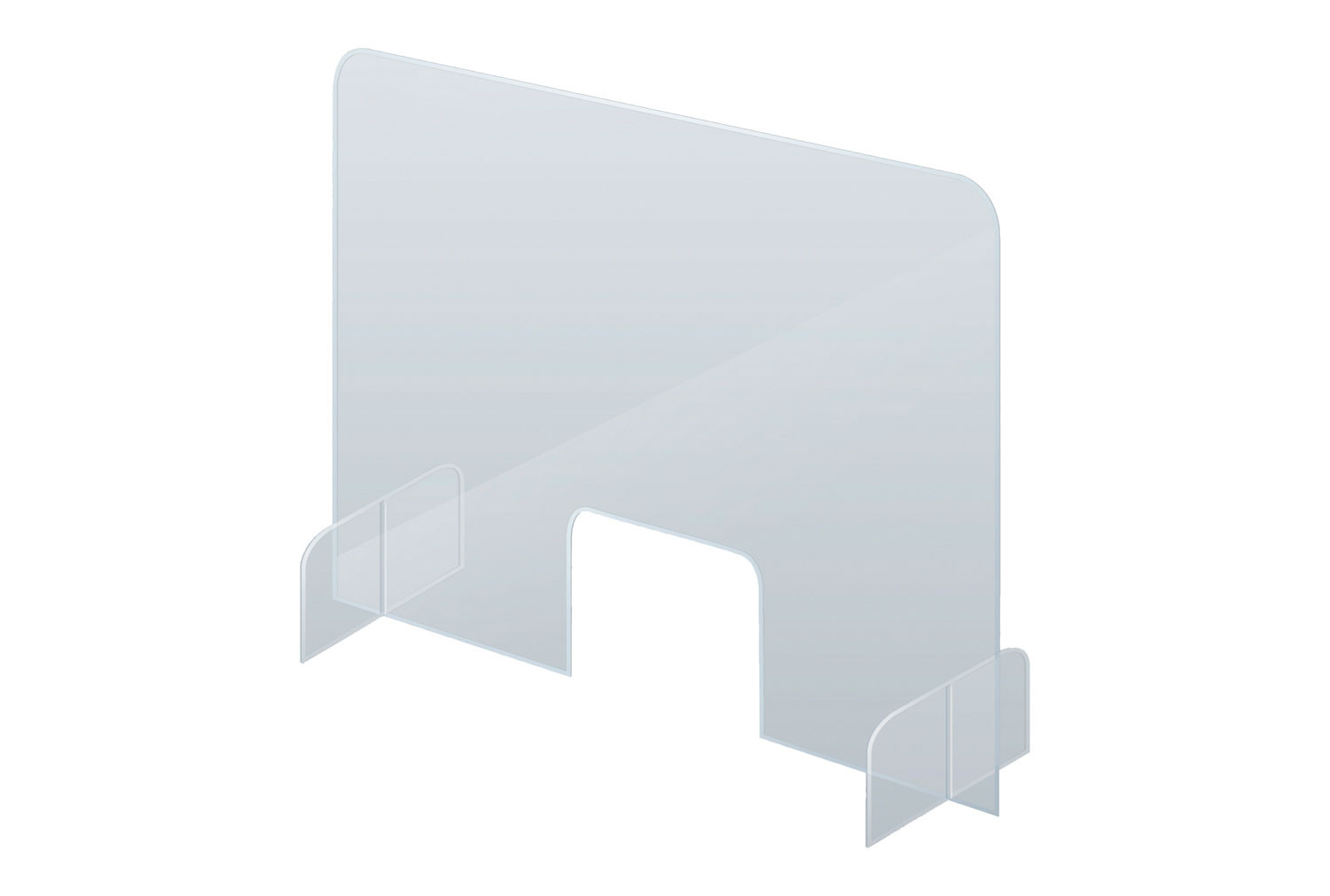 Desk And Counter Acrylic Protective Screens