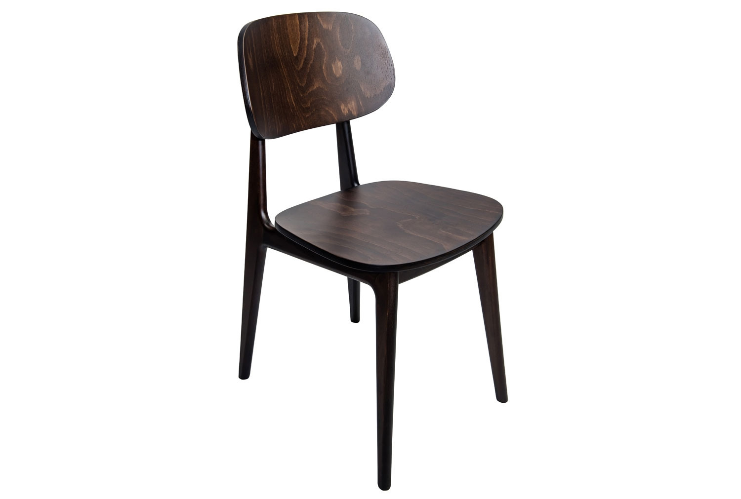 Gardena Dining Chair With Wooden Seat