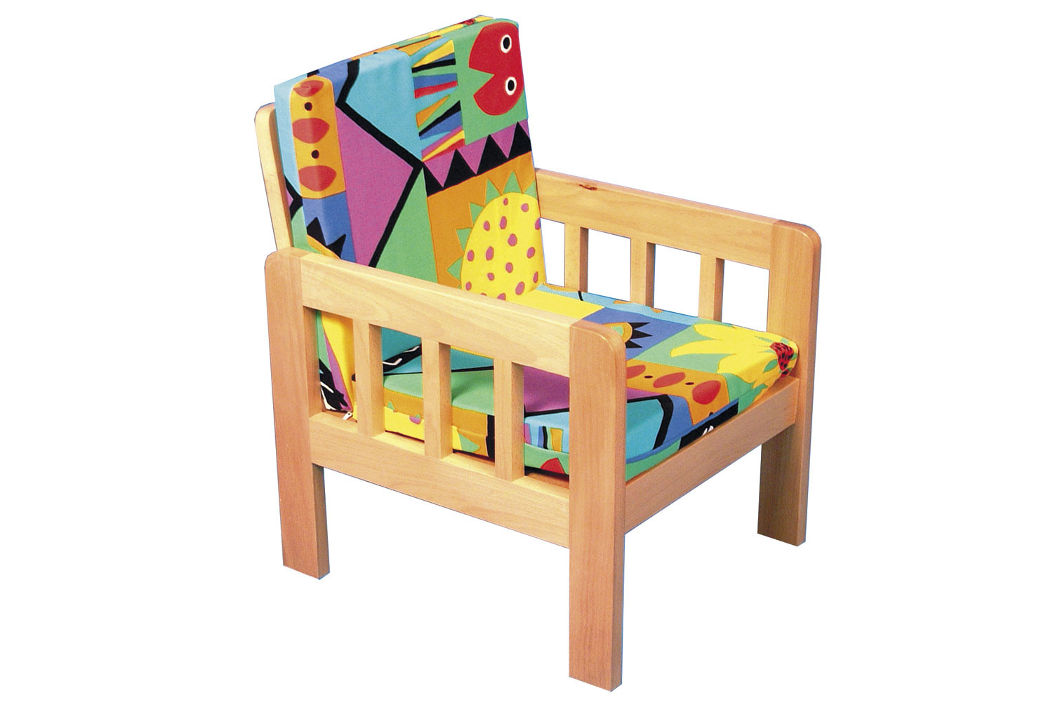 Forest Creatures Wooden Chair
