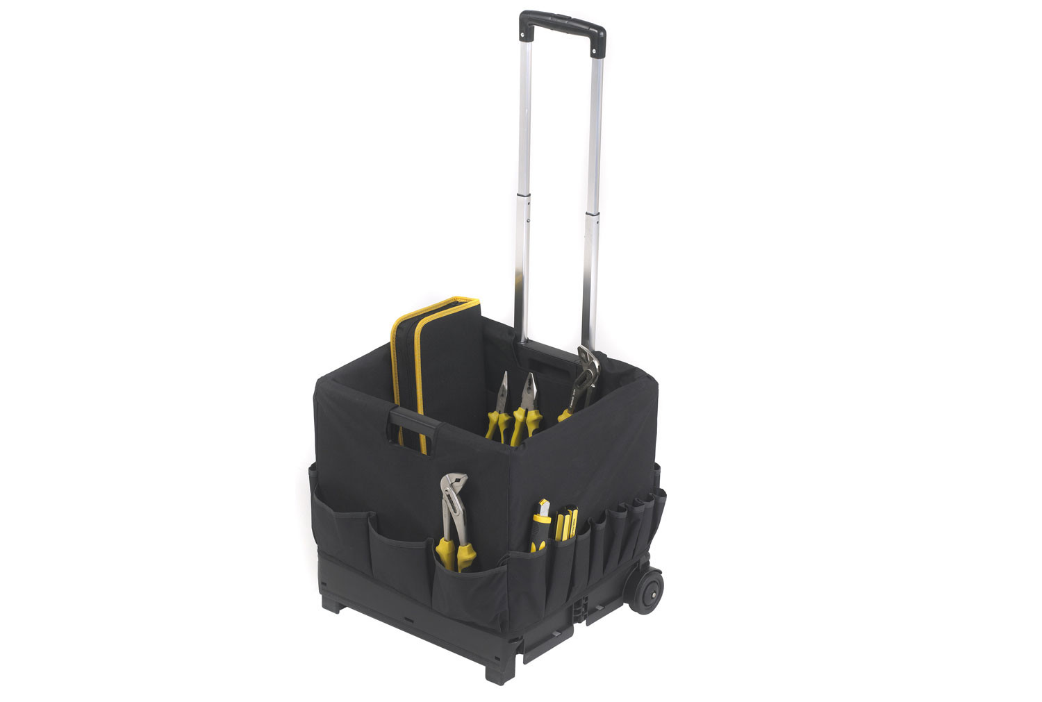 Folding Box Truck With Compartment Bag (35kg Capacity)