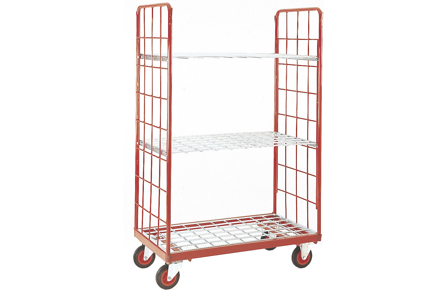 Narrow Aisle Distribution Truck With 2 Shelves