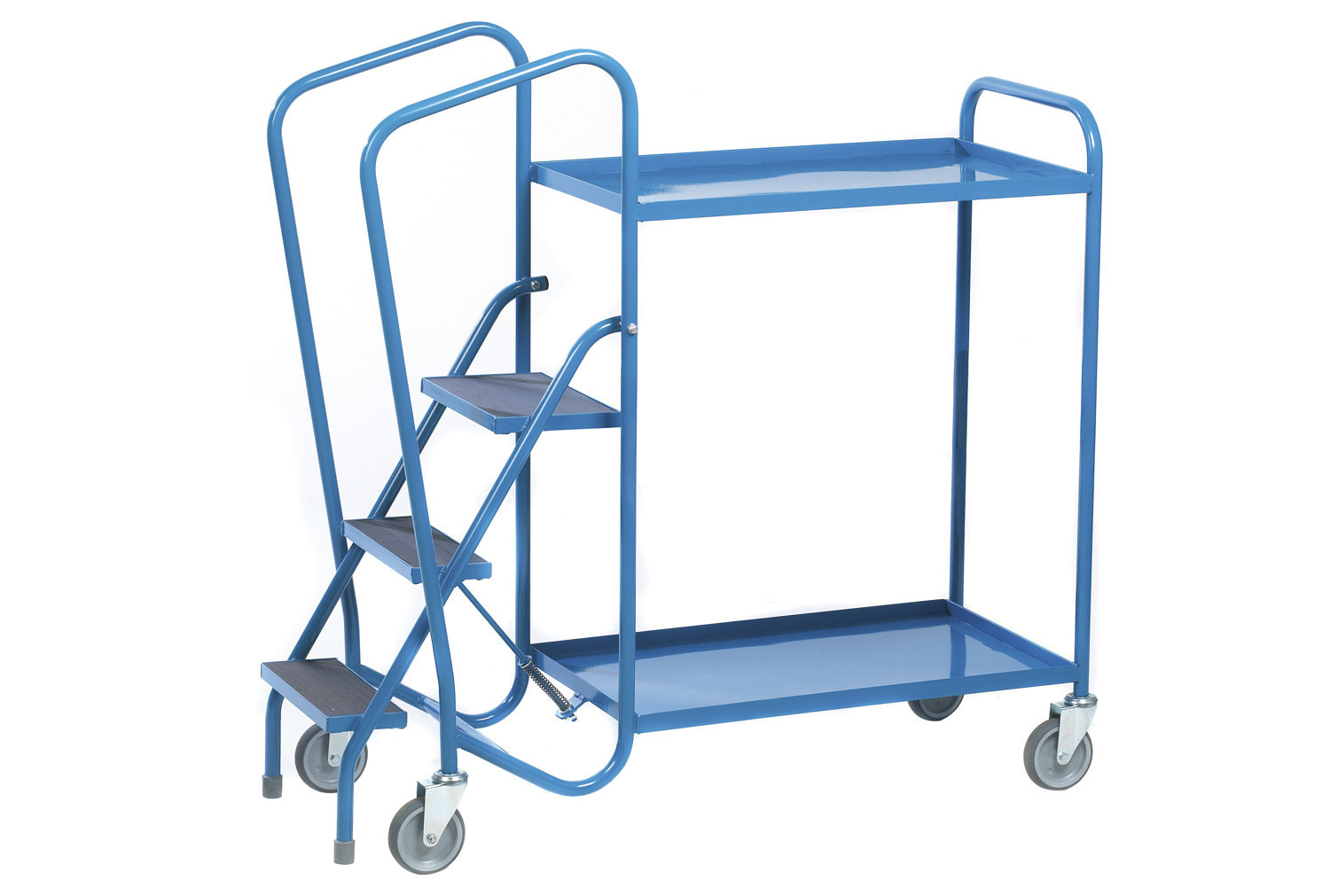 Fort Standard Order Picking Trolley With 2 Steel Trays (250kg Capacity)