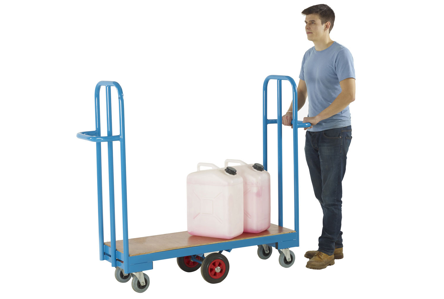 Narrow Aisle Cash And Carry Trolley (250kg Capacity)