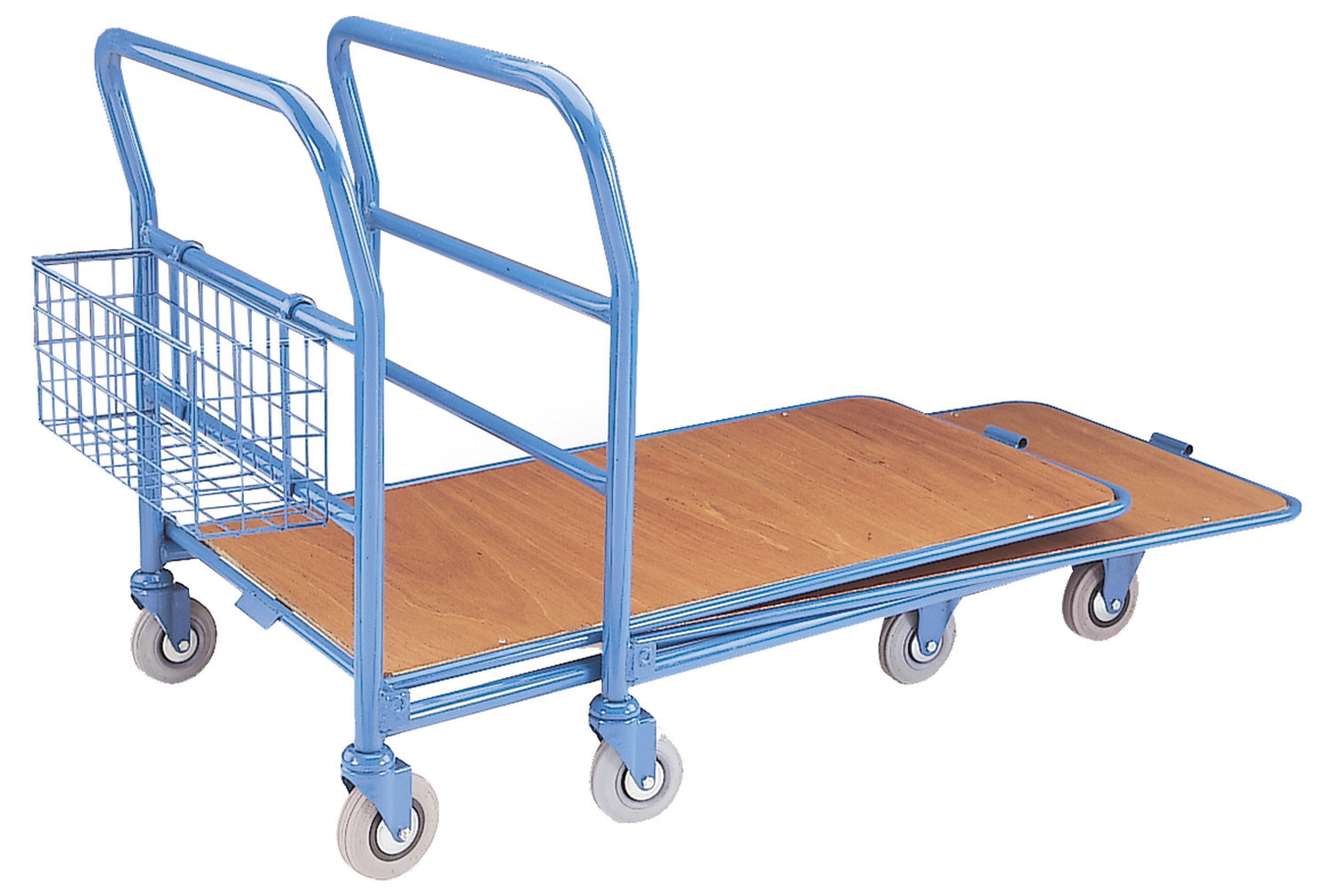 Nestable Cash And Carry Trolley (300kg Capacity)