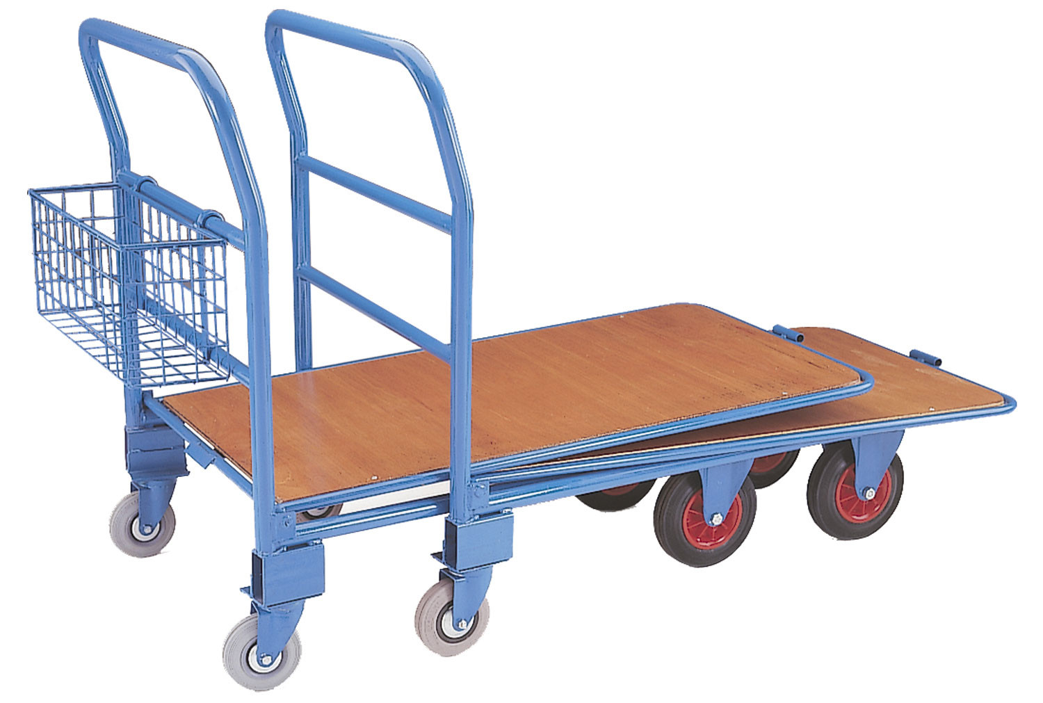 Heavy Duty Nestable Cash And Carry Trolley (500kg Capacity)