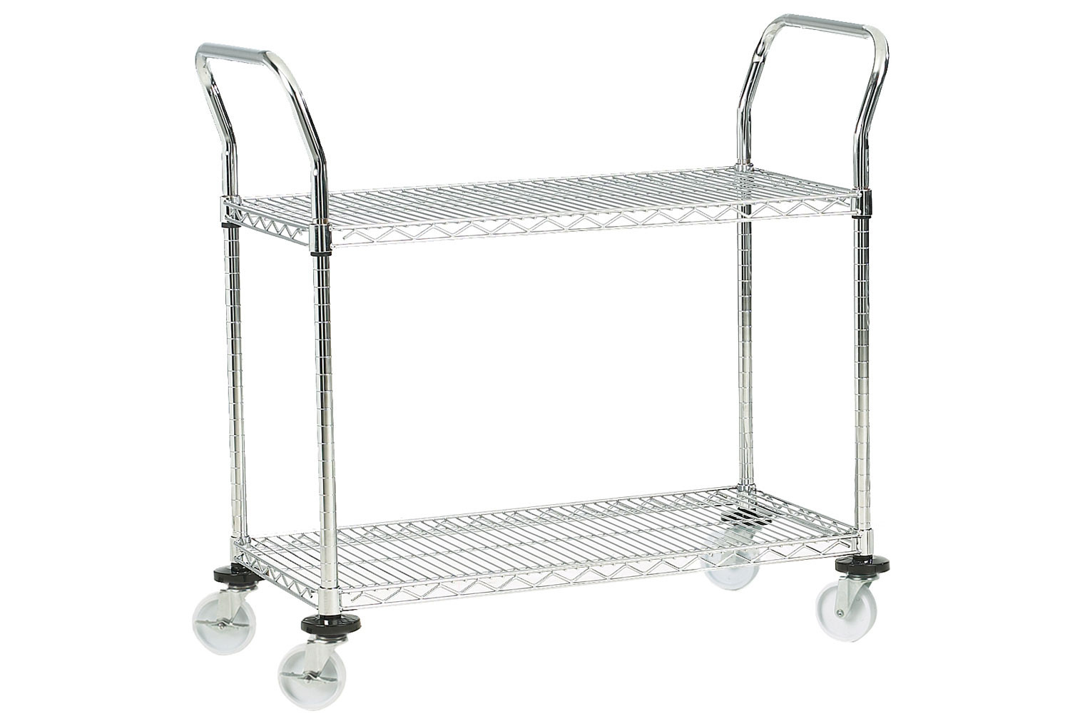 Chrome Plated Wire Trolleys (200kg Capacity)