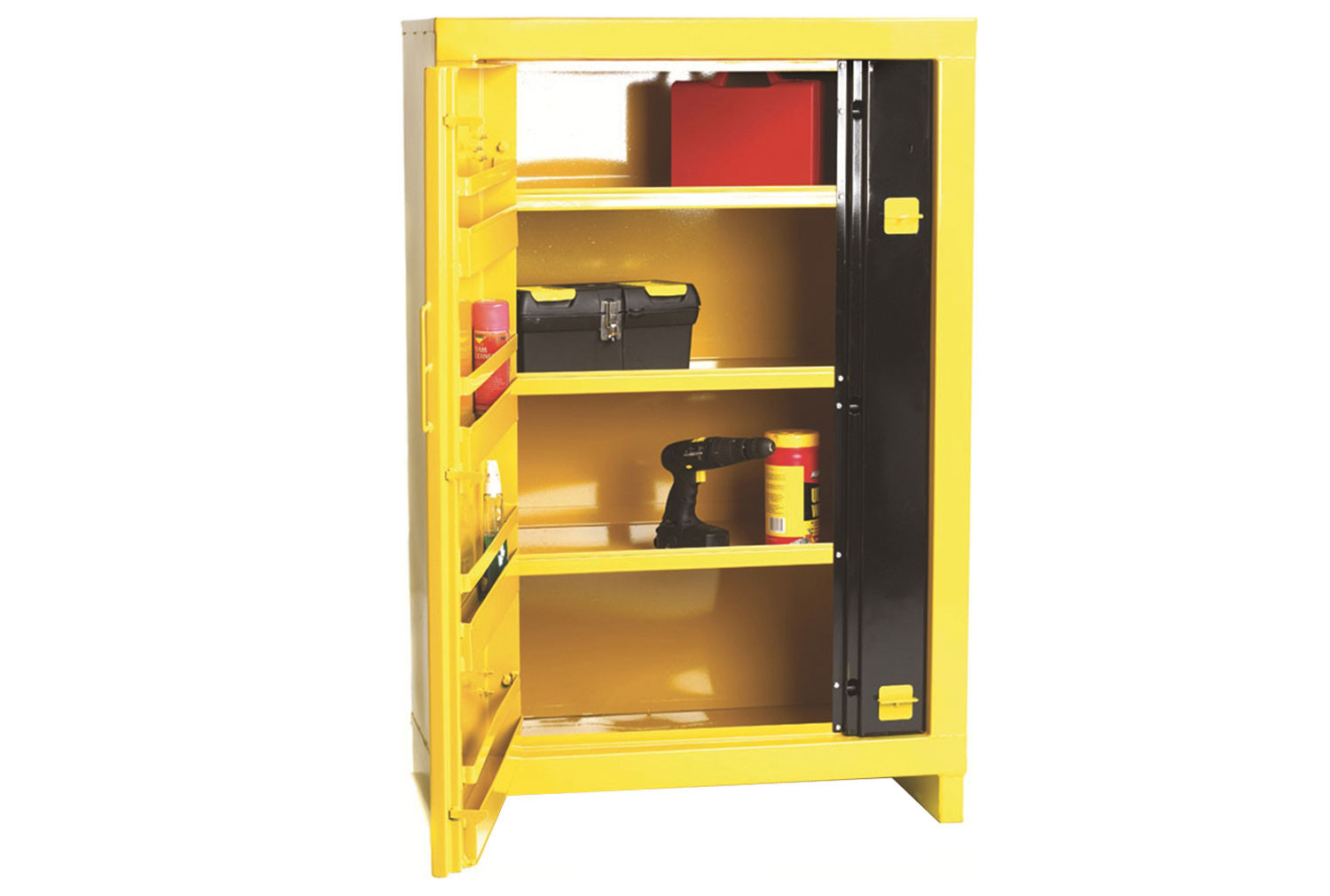Heavy Duty High Security Cupboards With 3 Shelves