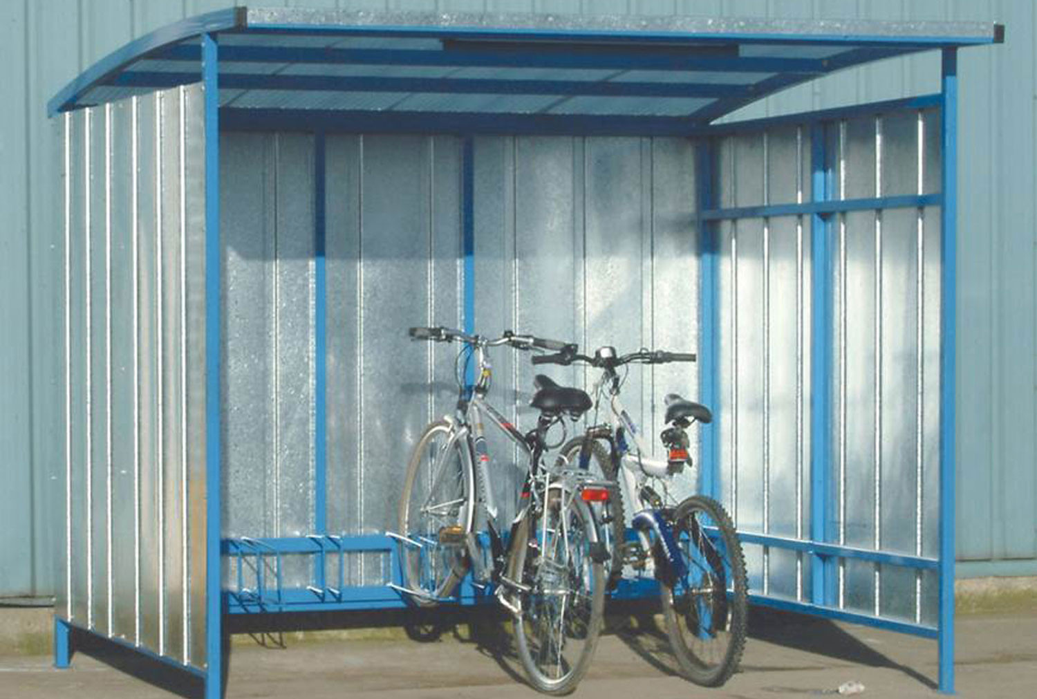 Industrial Cycle Shelter (7 Bikes)