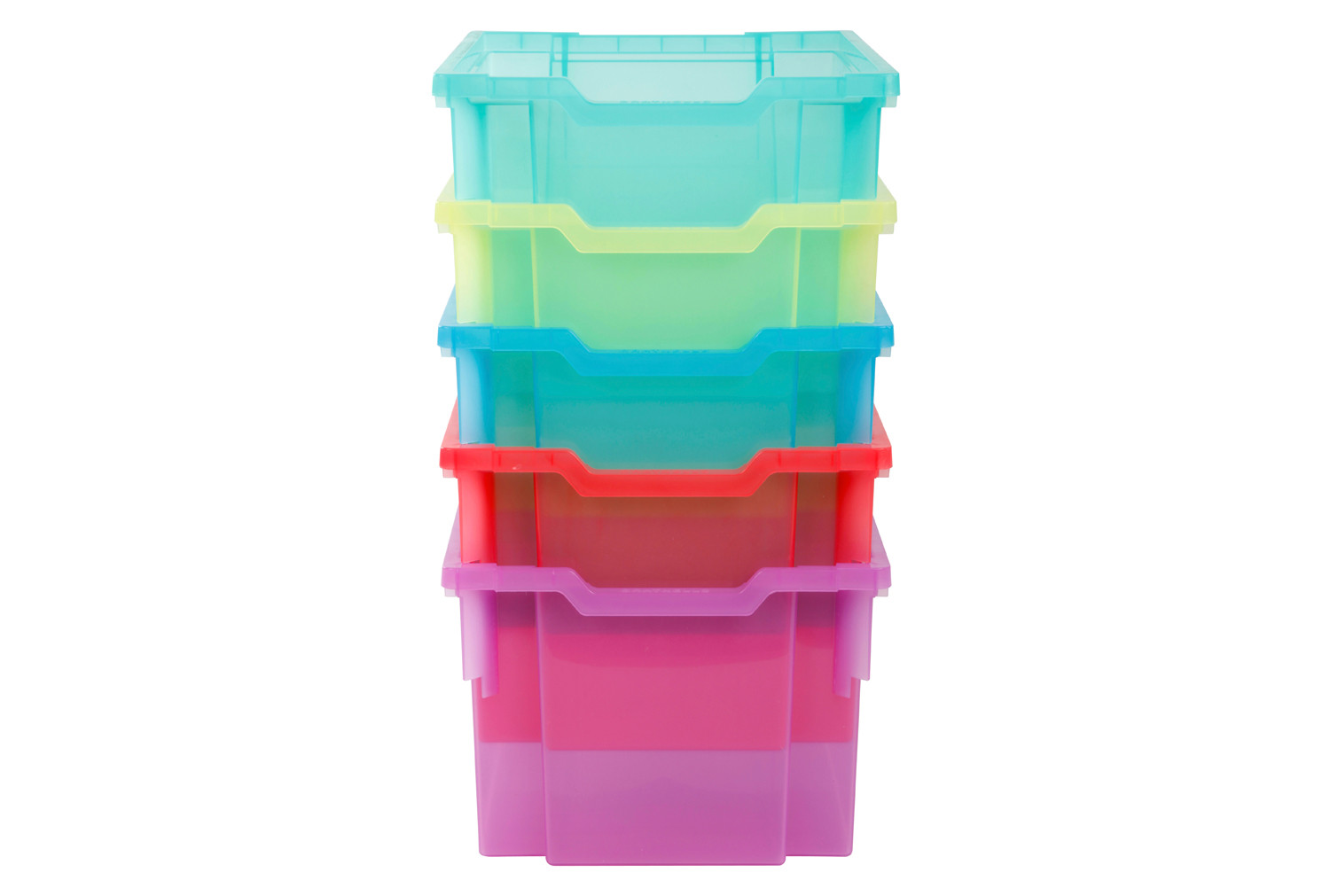 Pack Of 6 Gratnell Extra Deep Trays