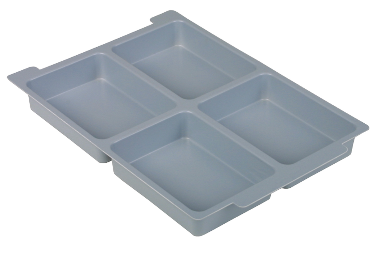 Pack of 6 Dividers For Gratnell Shallow Trays (4 Compartments)