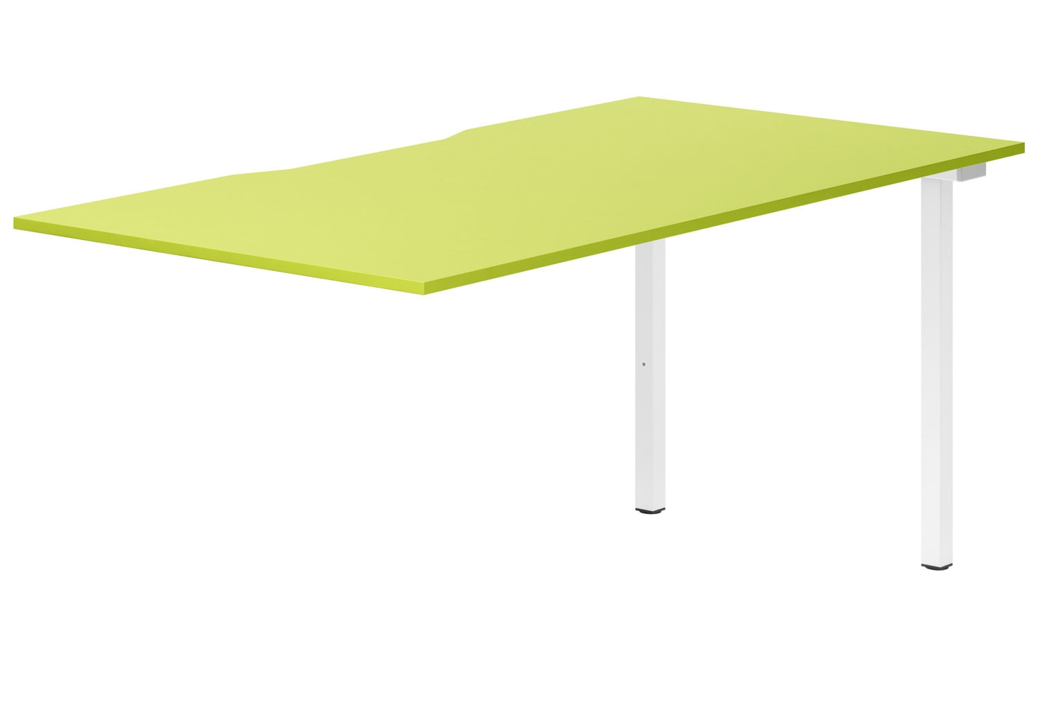 Next-Day Campos Single Add-On Bench Desk (Green)