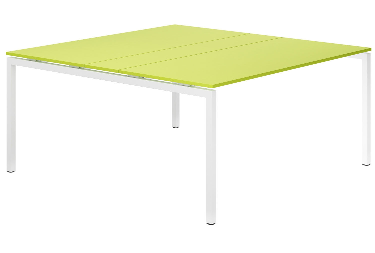 Next-Day Campos H-Leg 6-8 Person Meeting Table (Green)