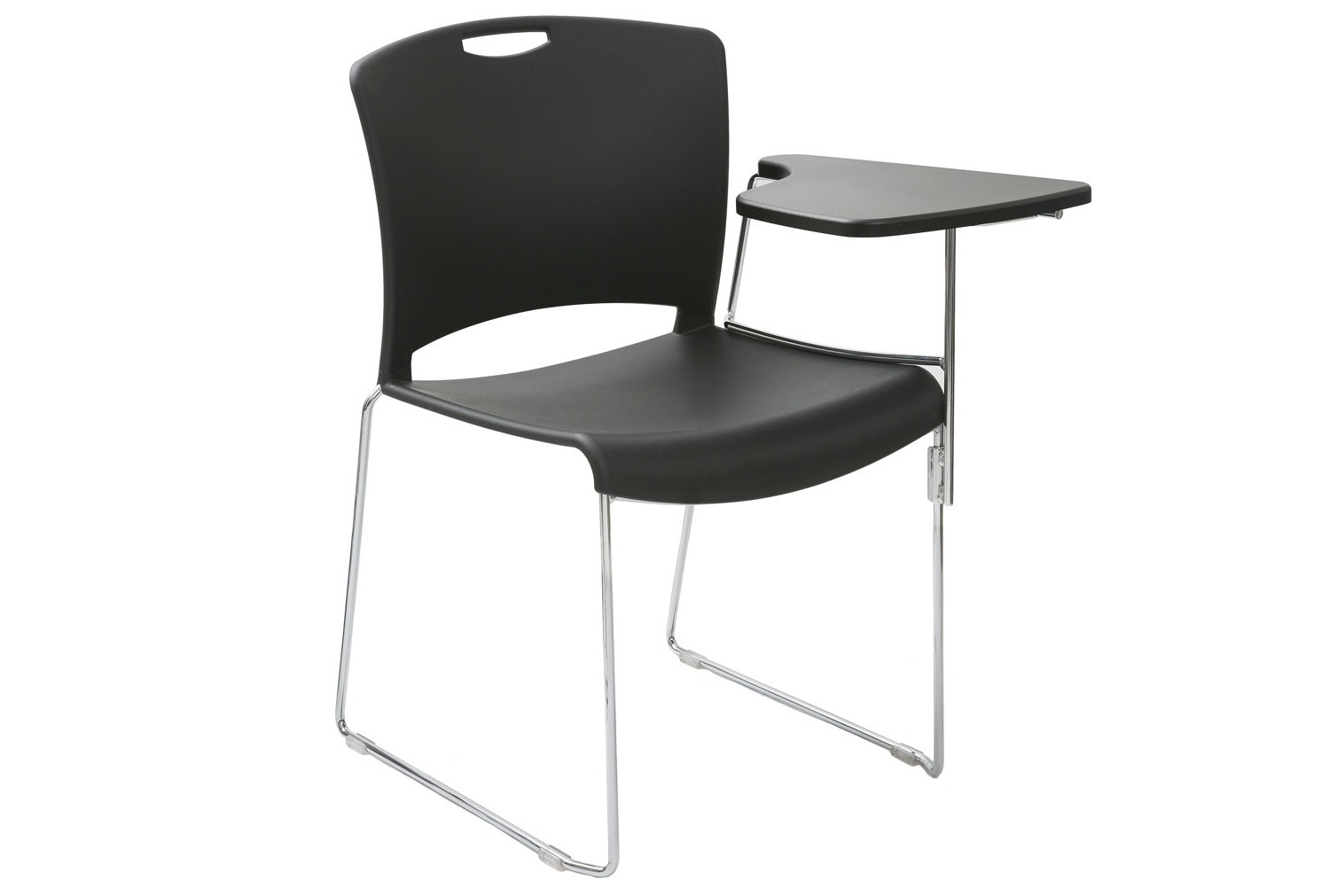 Alberta Stacking Chair With Left Hand Writing Tablet
