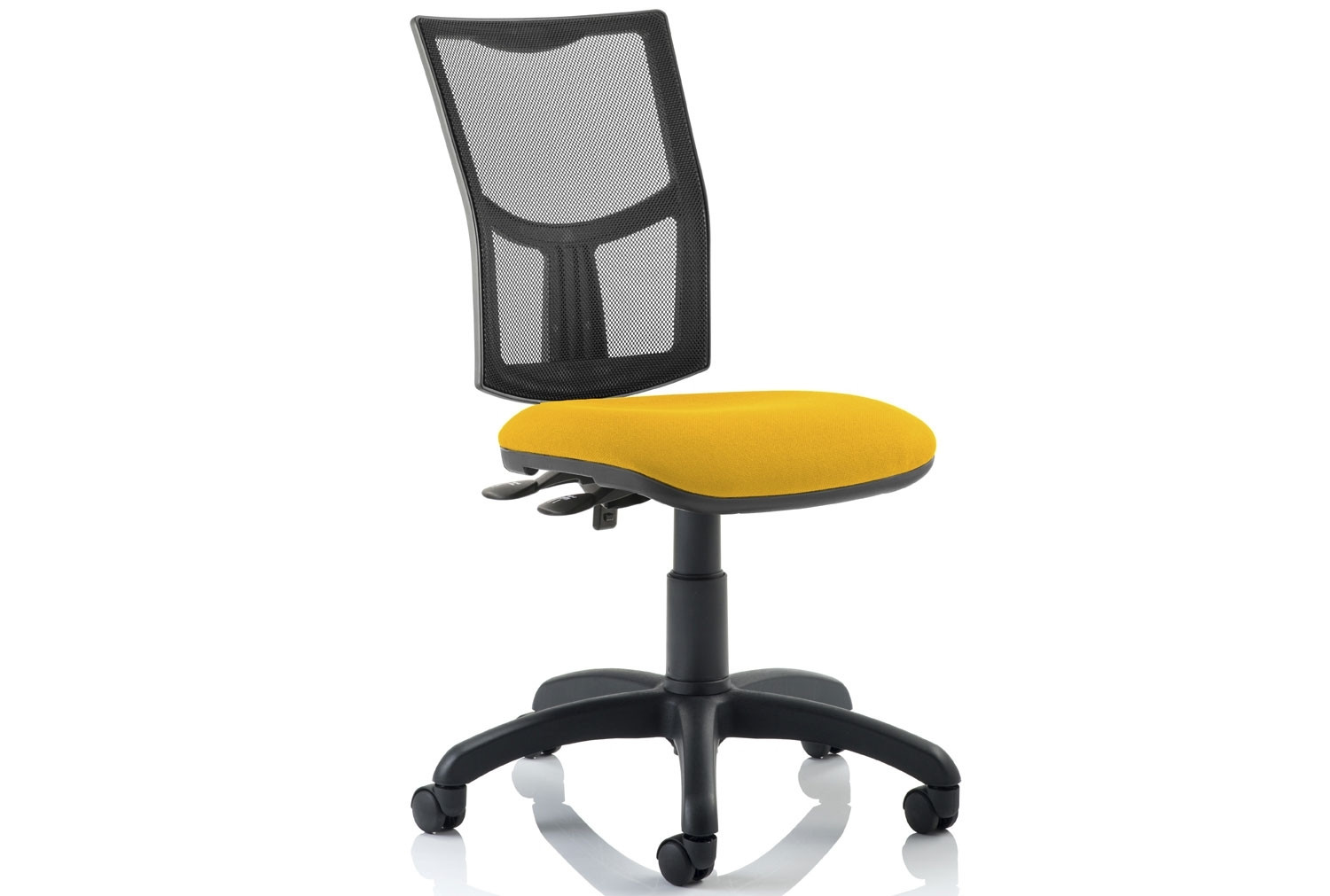 Lunar 2 Lever Mesh Back Operator Chair (No Arms)