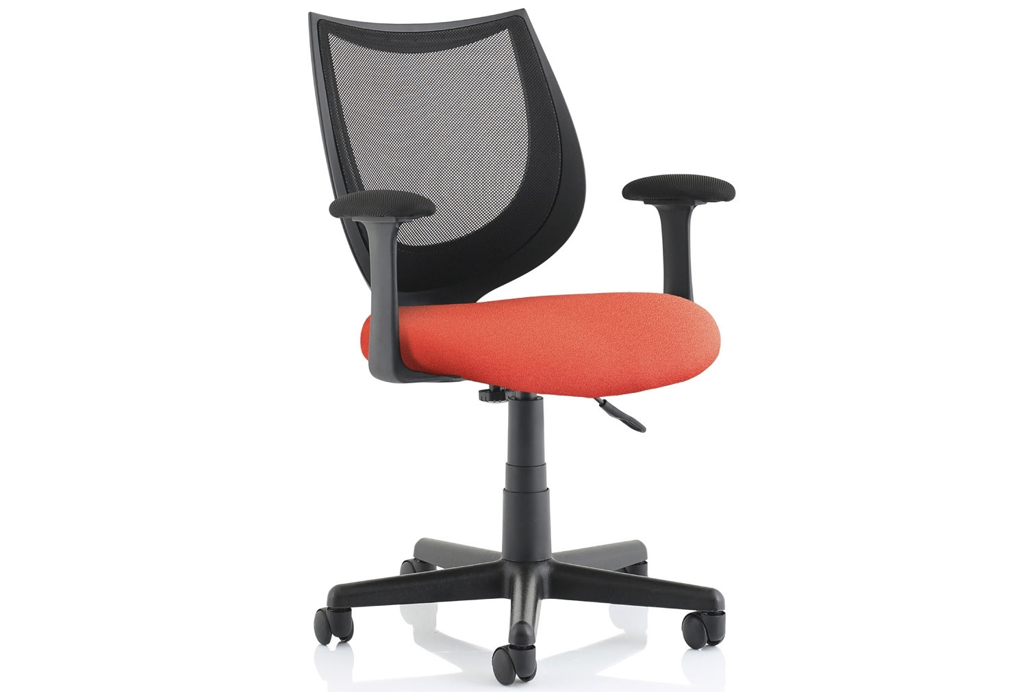 Oreto Mesh Back Chair With Fabric Seat