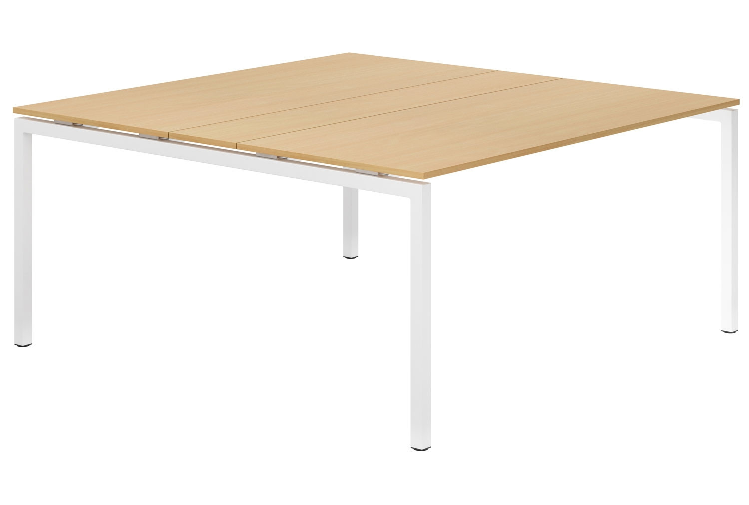 Next-Day Lozano H-Leg 6-8 Person Meeting Table (Beech)