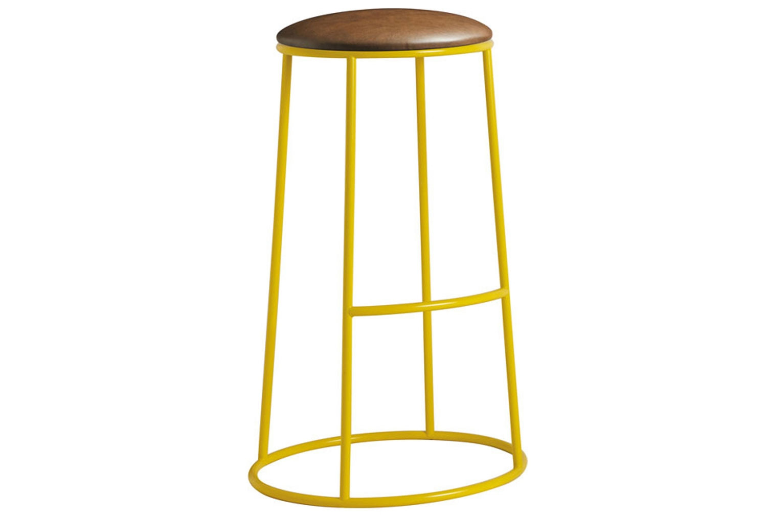Mulluna High Stool With Upholstered Seat