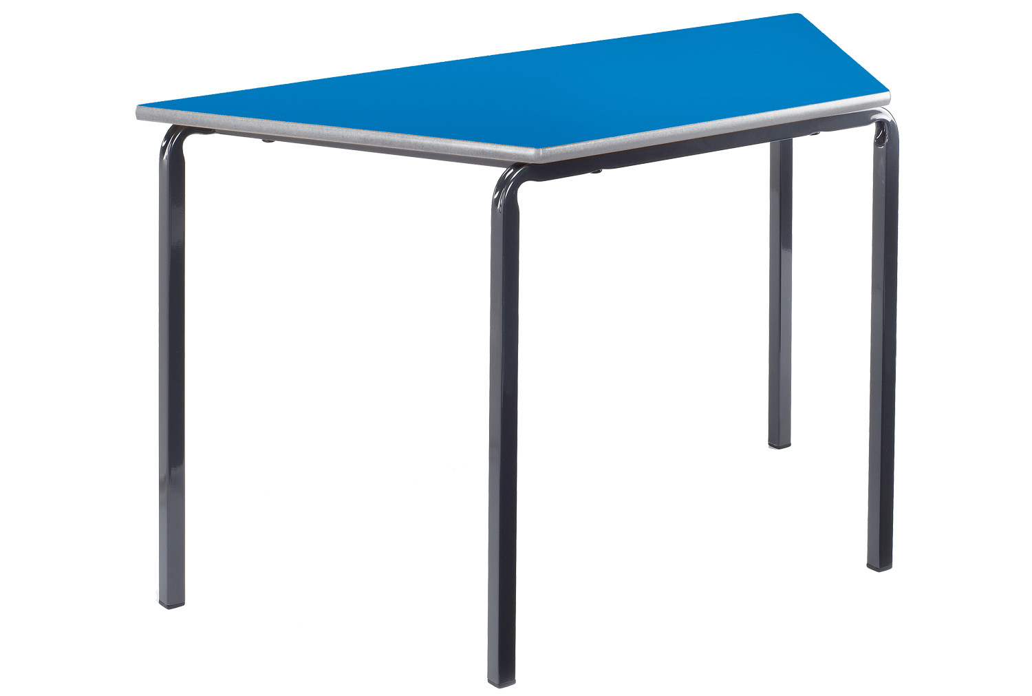 Trapezoidal Crush Bent Classroom Tables 11-14 Years
