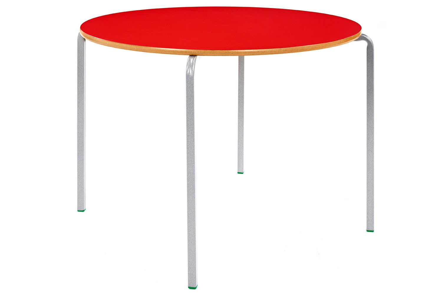 Circular Crush Bent Classroom Tables 8-11 Years