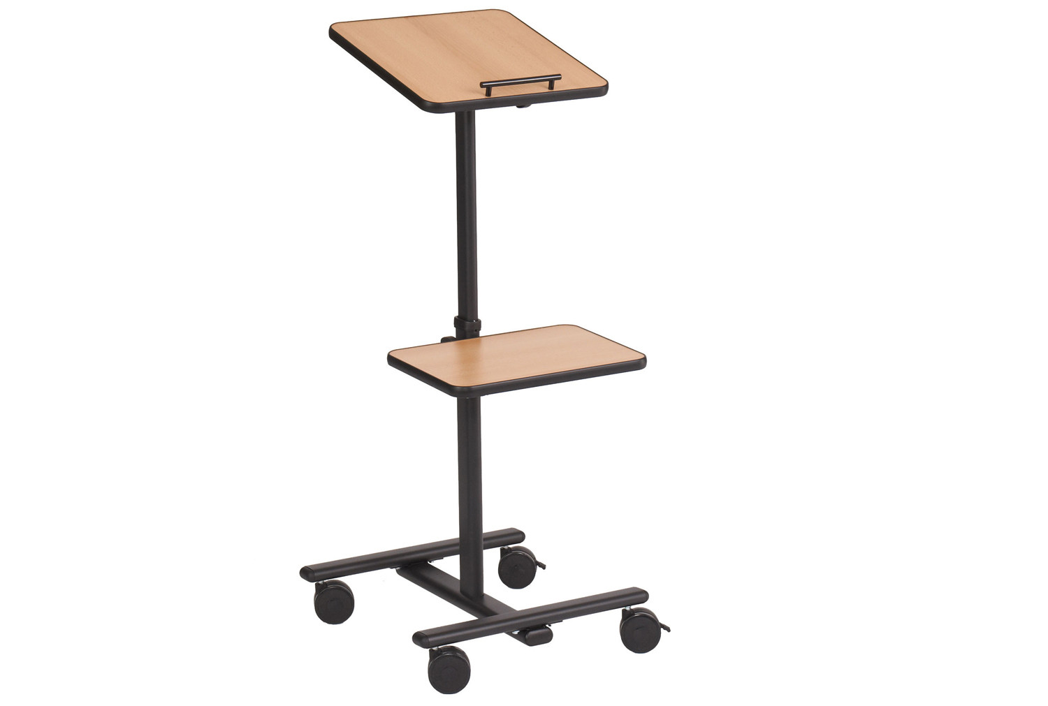 Tilt-Top Projector Trolley Side Platform
