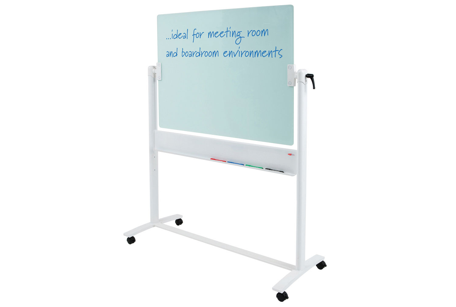 Write-On Glass Mobile Whiteboard