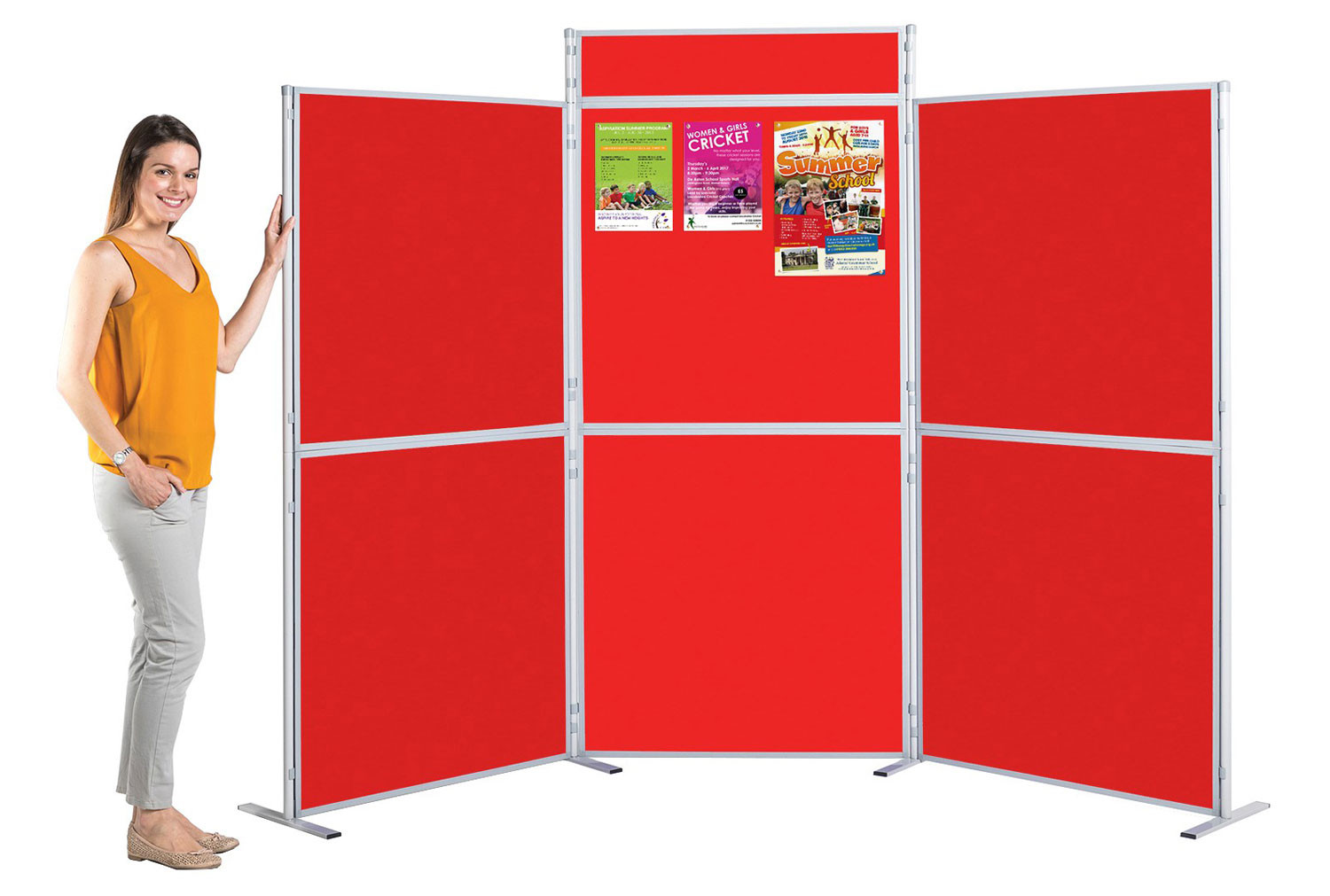 Grandstand Pole And Panel Display System