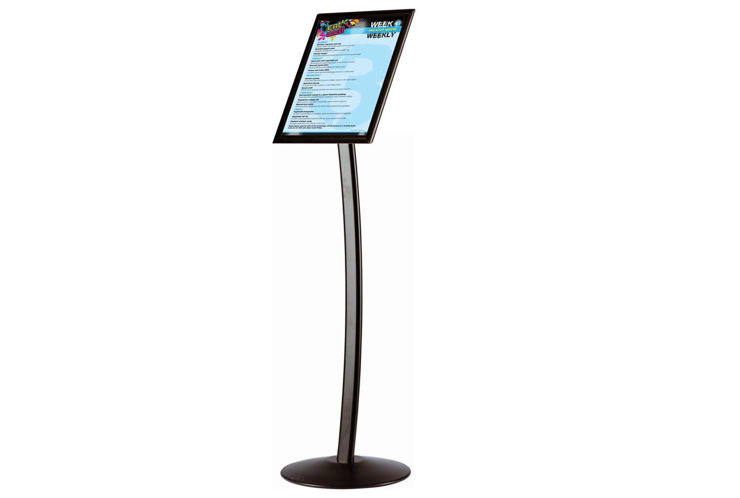 Busygrip Black Poster Stand