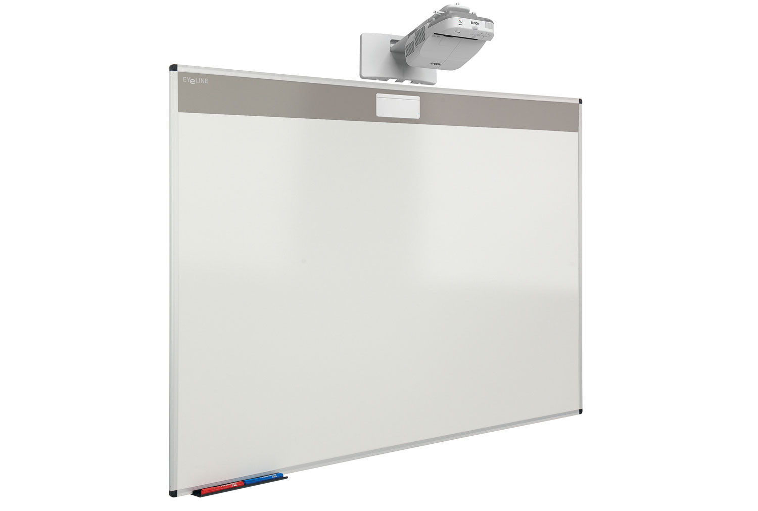 """Oversize 87"""" Projection Whiteboard"""