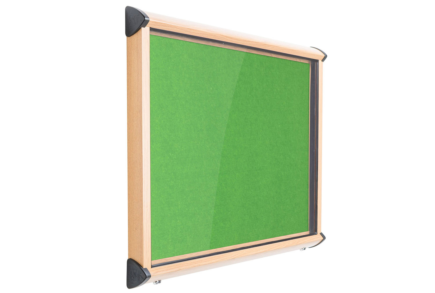 Resist A Flame Shield Eco Colour Wood Effect Framed Showcase
