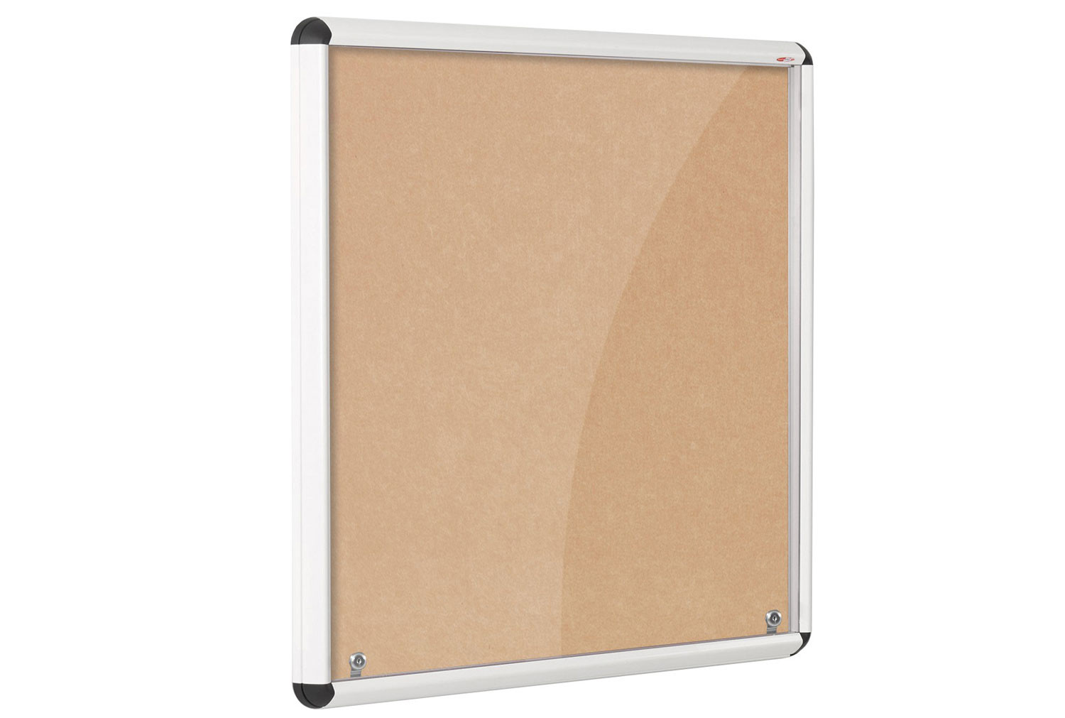 Shield Eco-Colour White Framed Corridor Tamperproof Noticeboards
