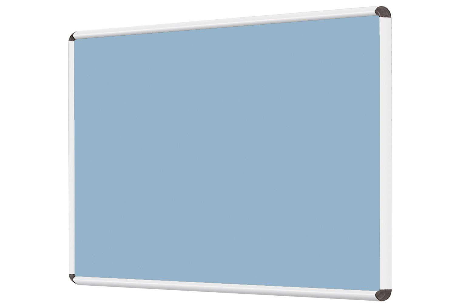 Shield Resist-A-Flame Woven Cloth Noticeboard With Coloured Frame