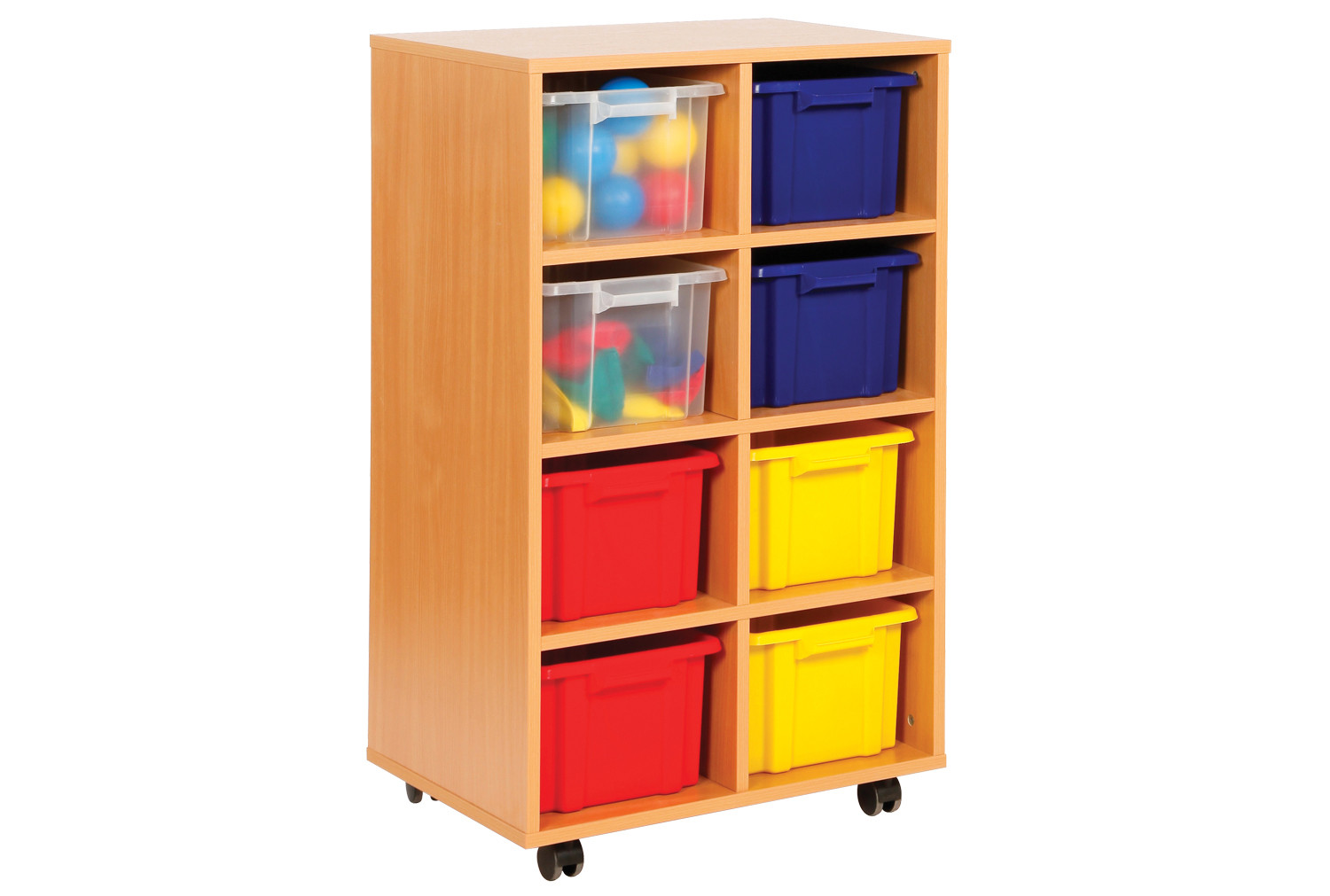 Budget 8 Tray Storage Unit Furniture At Work 174