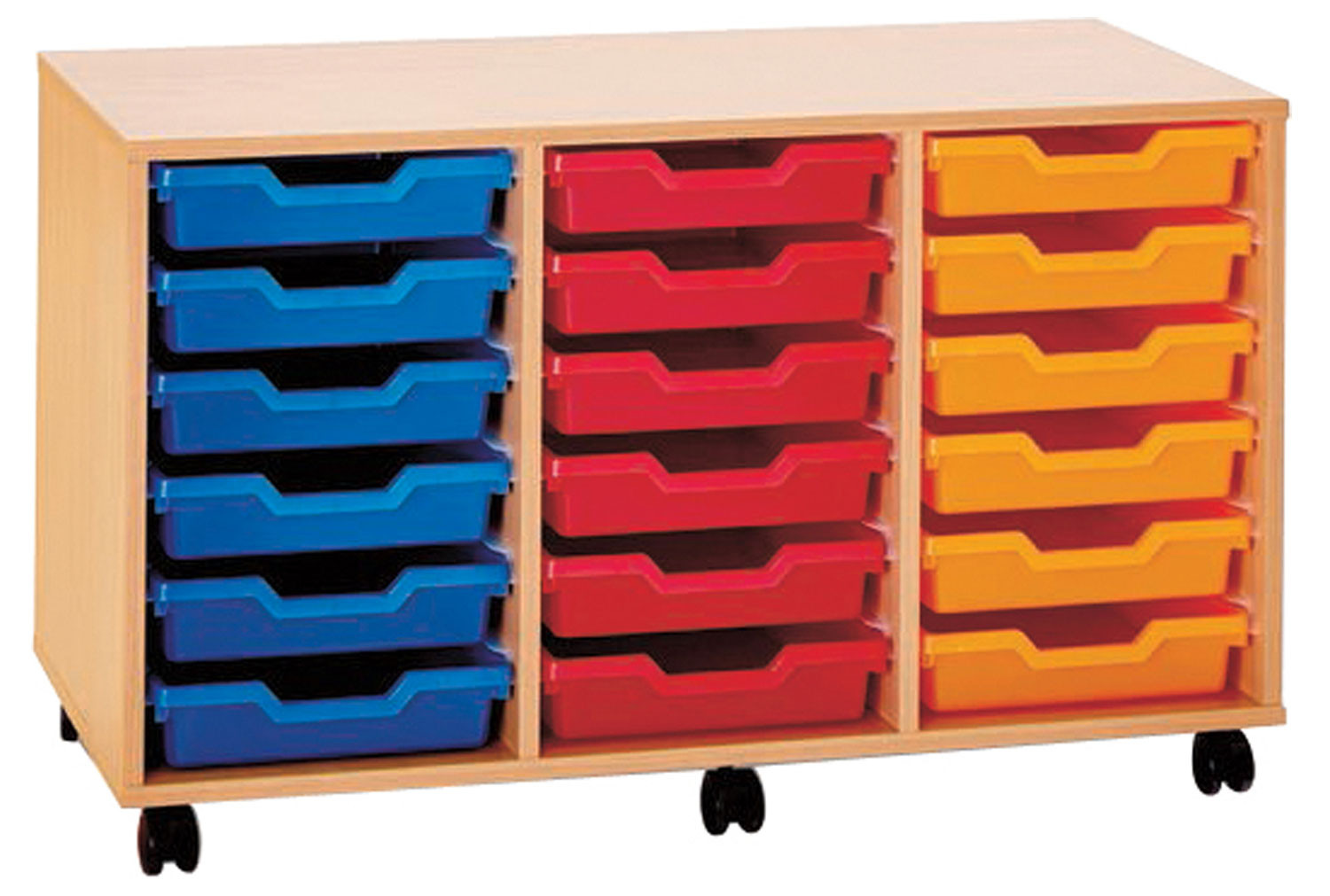 Pop 18 Shallow Tray Storage Unit
