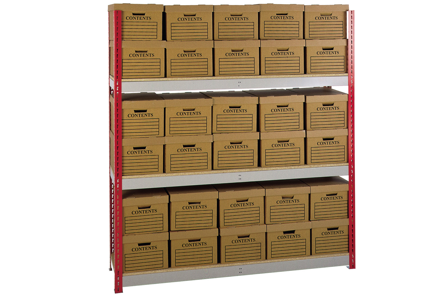 Box Storage Shelving