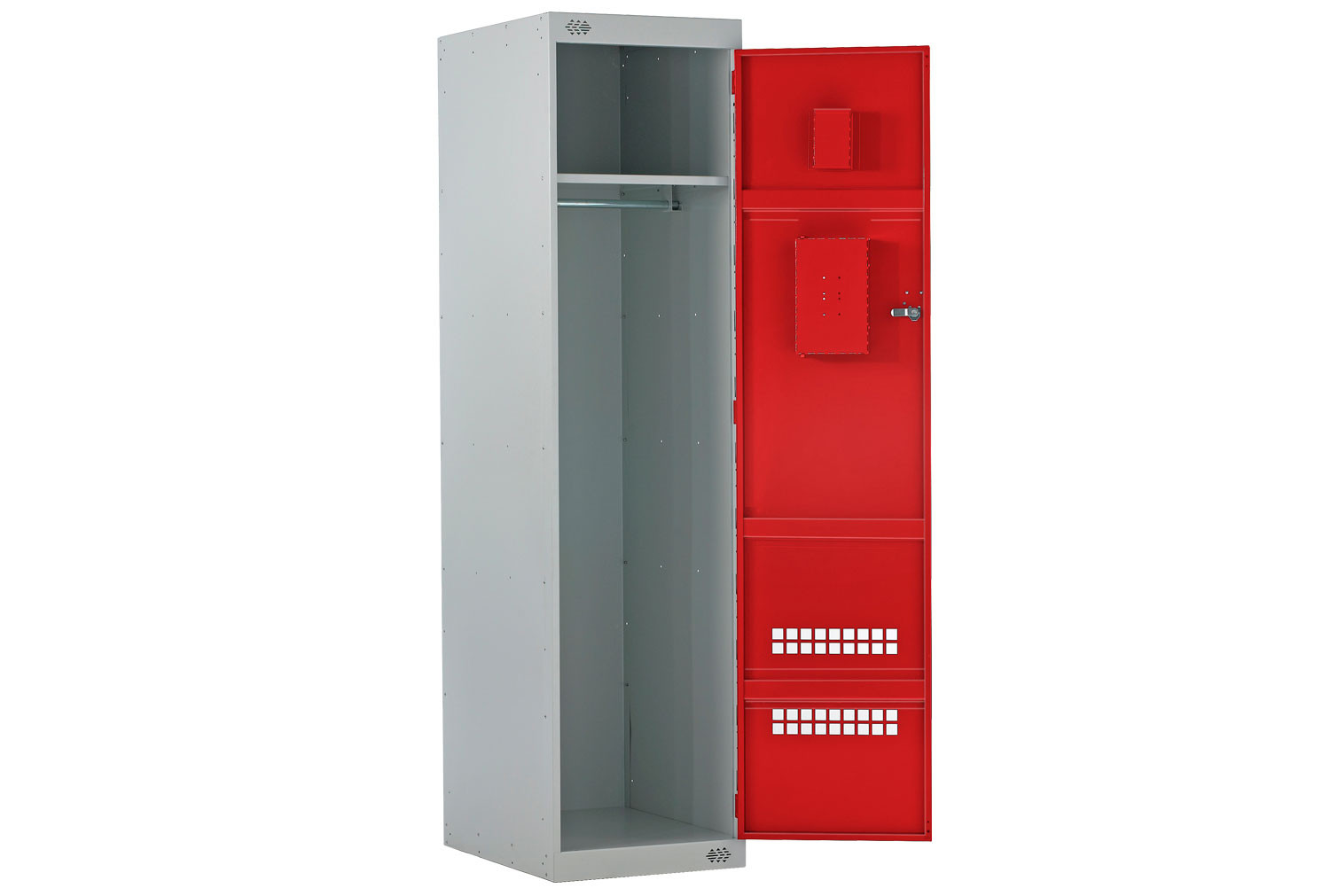 Police Lockers With Airwaves & CS Canister Holder