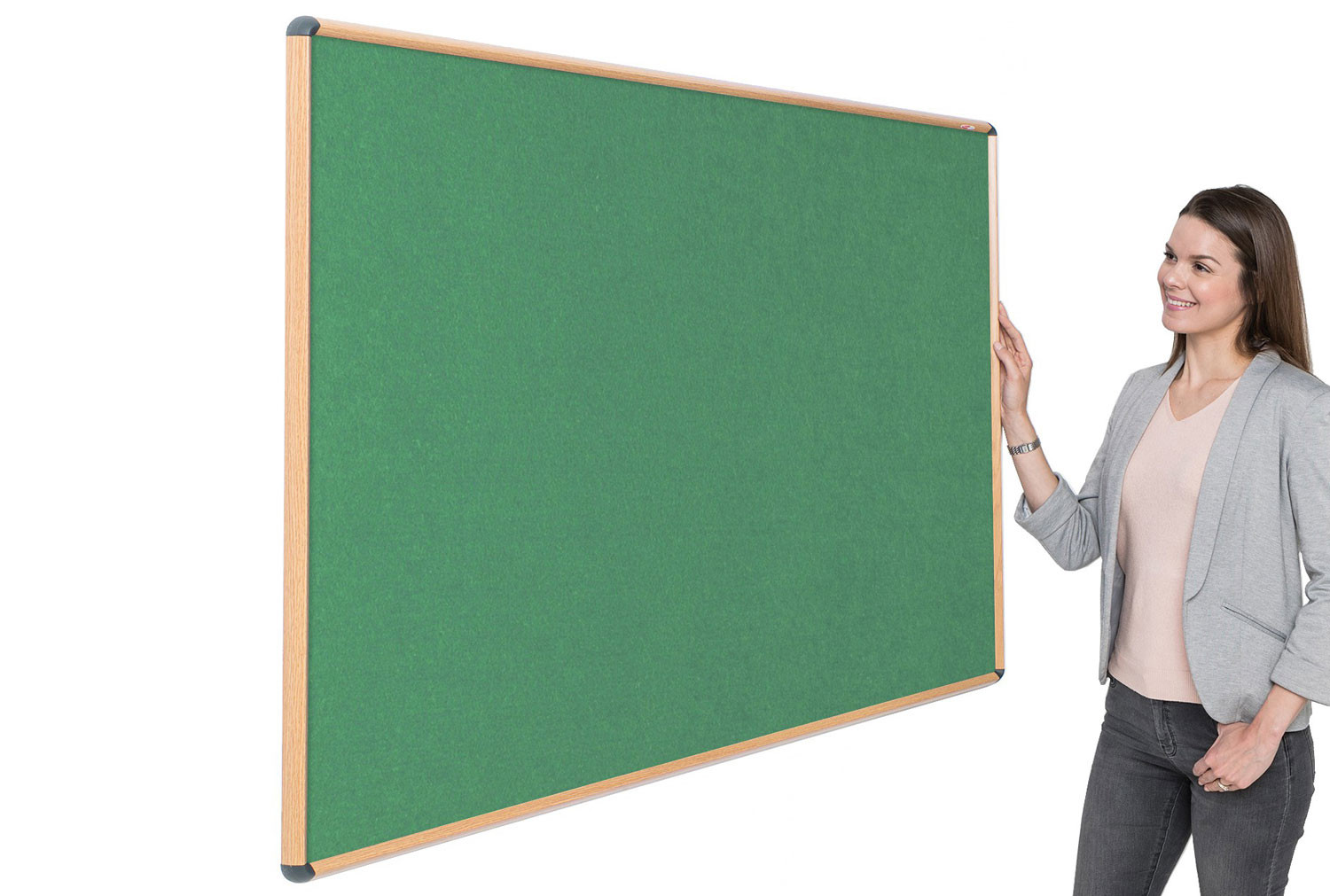 Shield Eco-Colour Resist-A-Flame Wood Effect Noticeboards