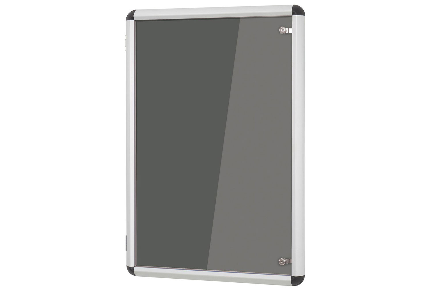 Shield Design Aluminium Framed Tamperproof Noticeboard