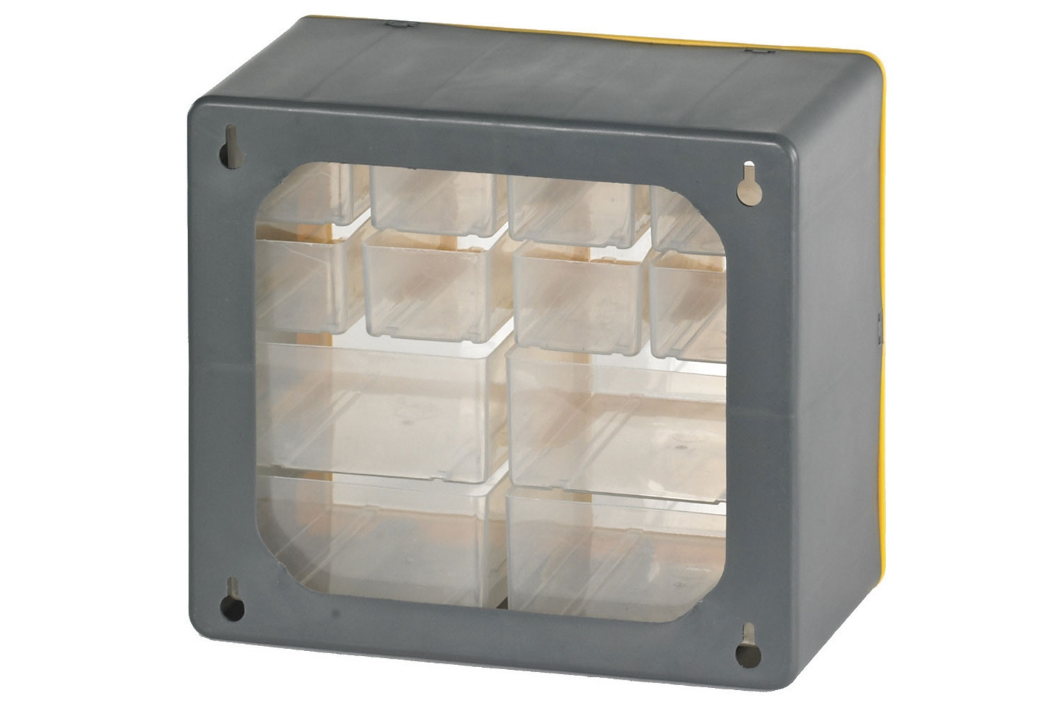 Clear Front Compartment Storage Box With 24 Large Compartments