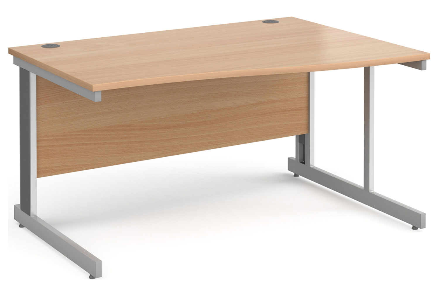 Tully Panel End Right Hand Wave Desk