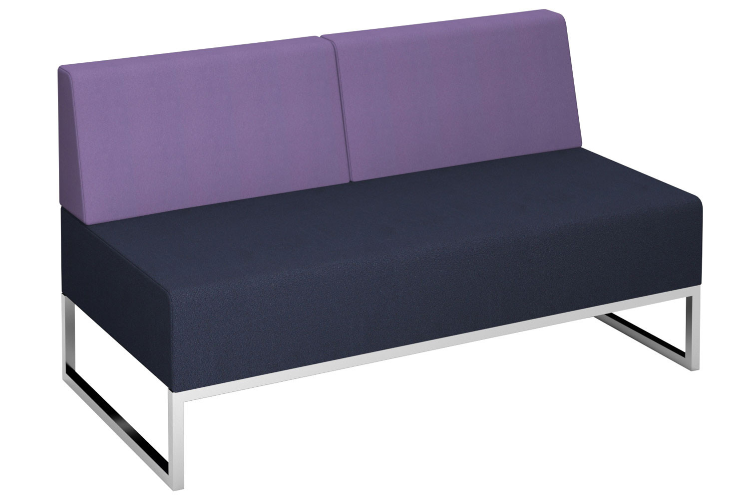 Fuse Double Bench With Double Back