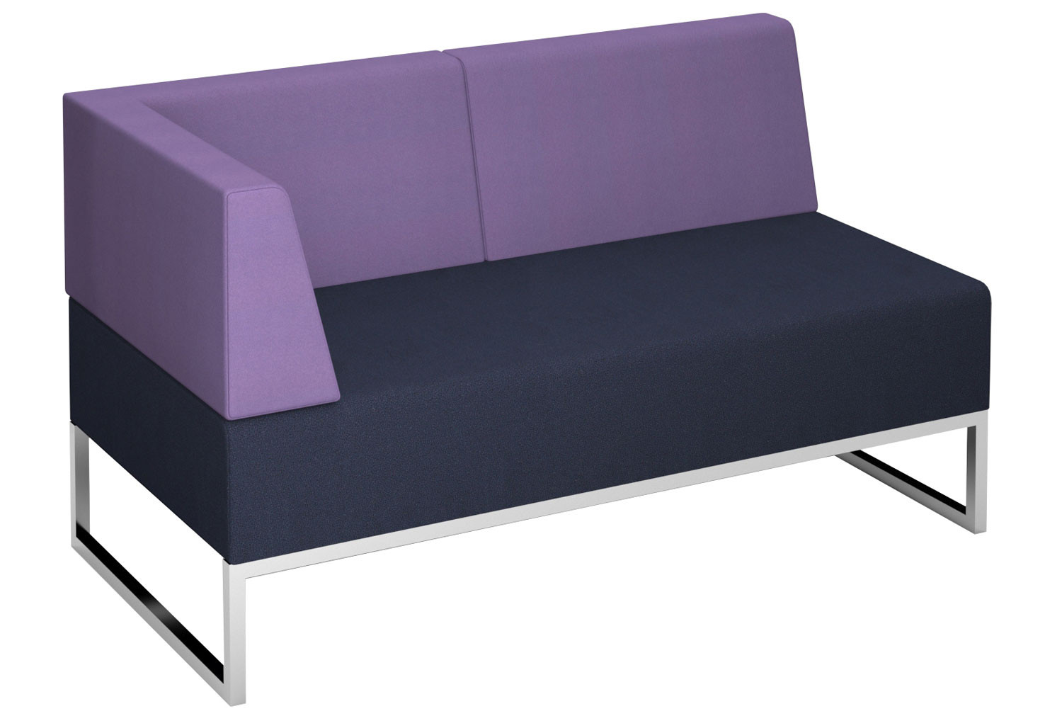 Fuse Double Bench Double Back And Right Hand Arm