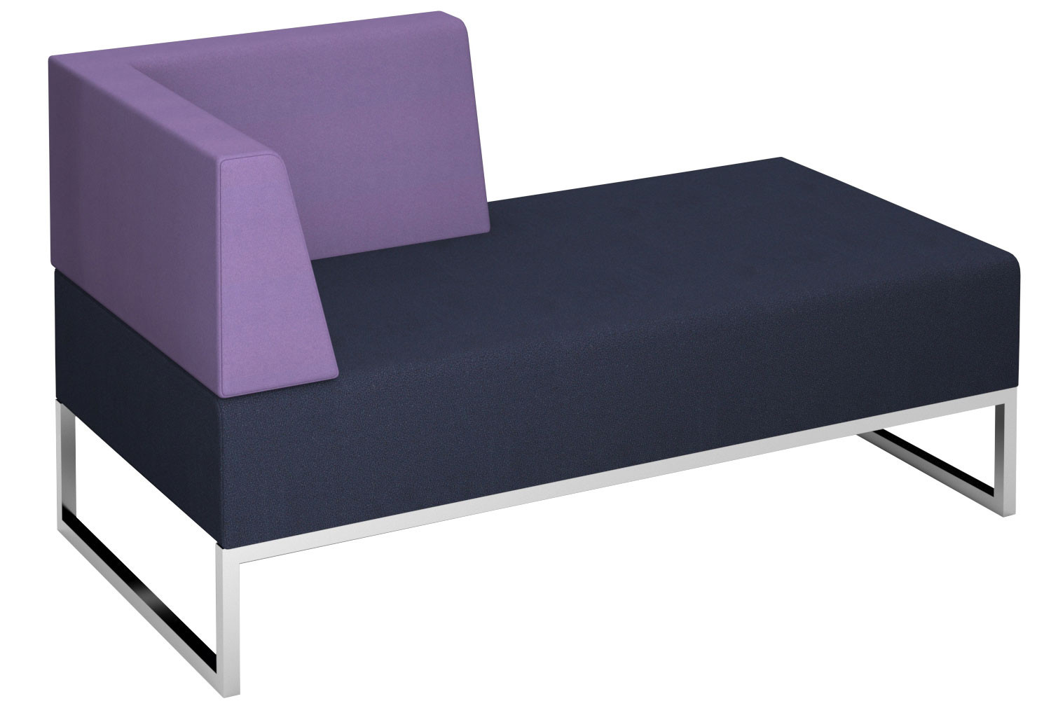 Fuse Double Bench With Right Hand Arm And Back