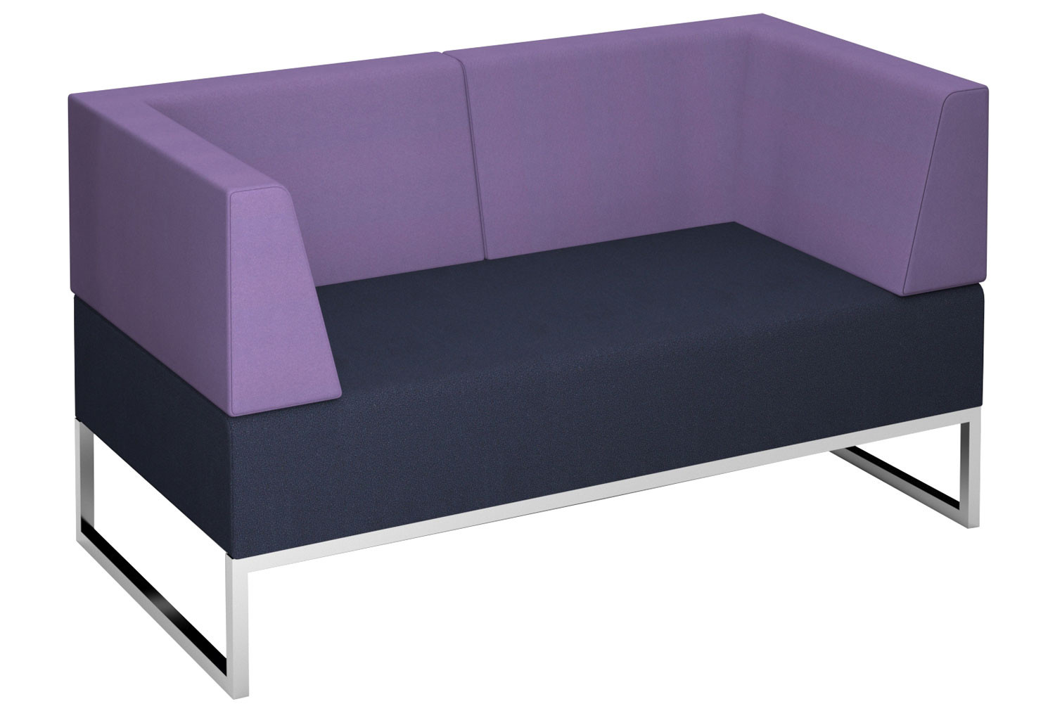 Fuse Double Bench With Double Back And Two Arms