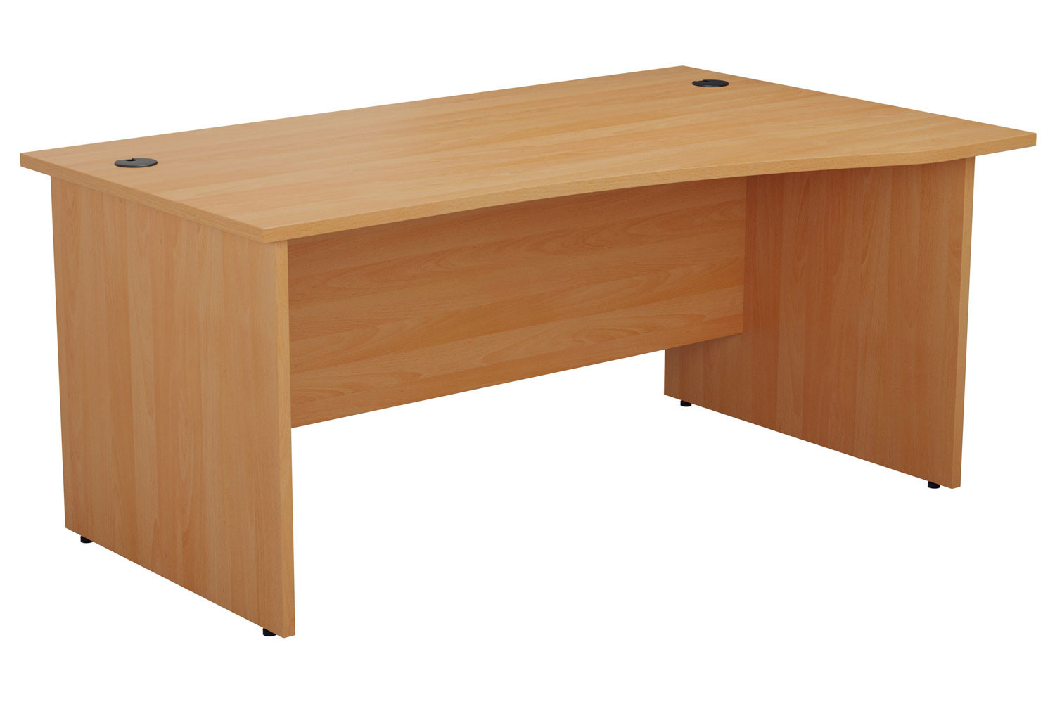 Proteus Panel End Right Hand Wave Desk