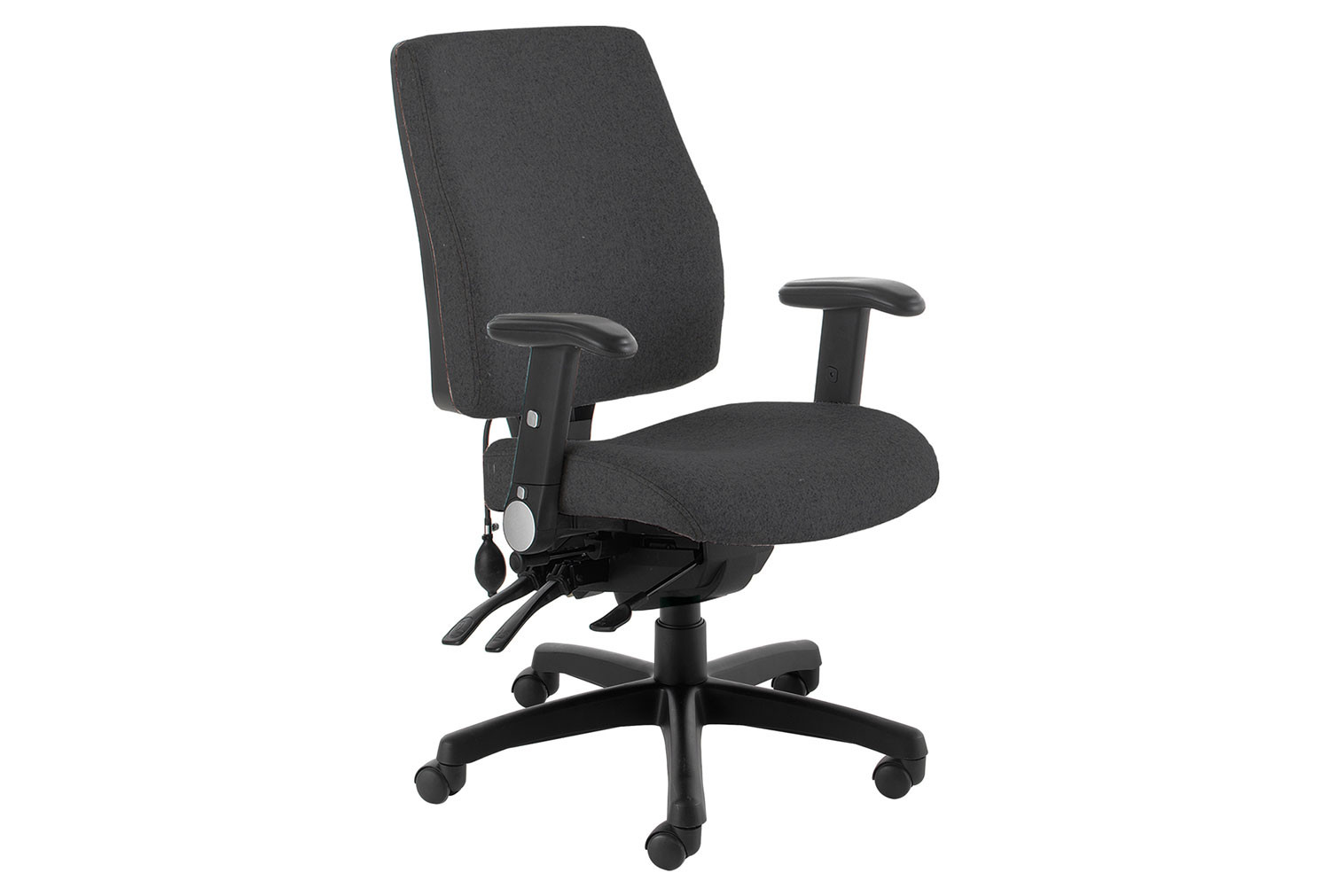 Indre High Back Operator Chair With Folding Arms