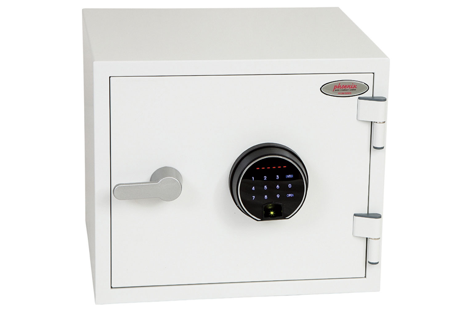 Phoenix Titan FS1281F Fire Safe With Fingerprint Lock (19ltrs)