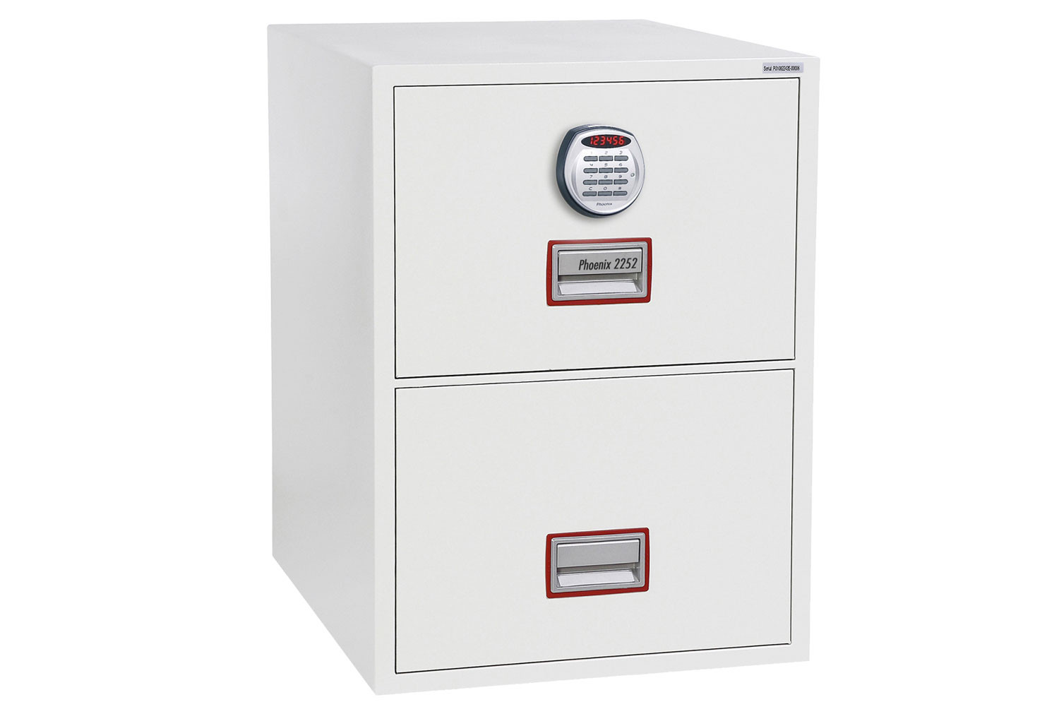 Phoenix World Class Vertical FS2262E Fire File 2 Drawers With Electronic Lock