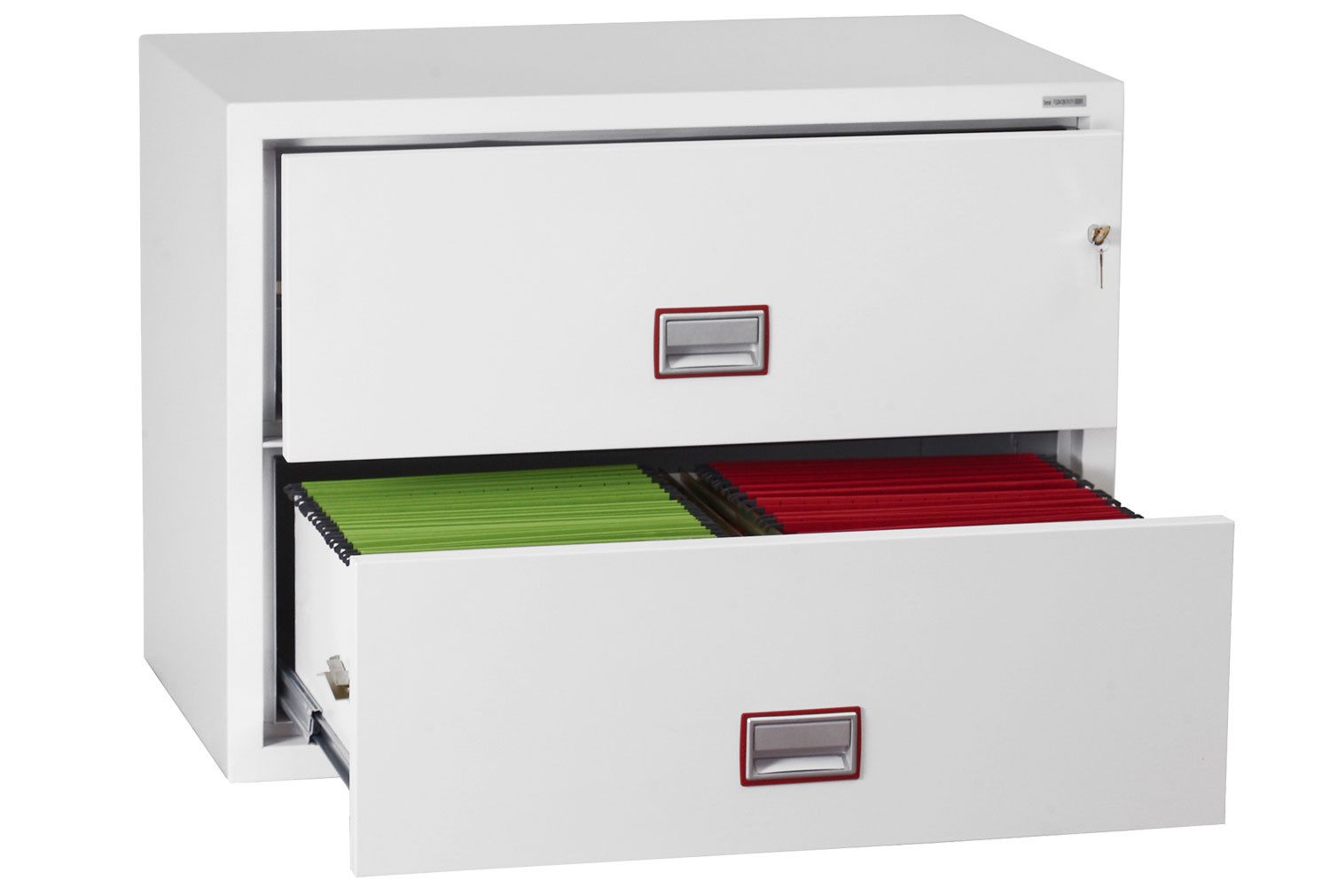 Phoenix World Class Lateral FS2412K Fire File 2 Drawers With Key Lock