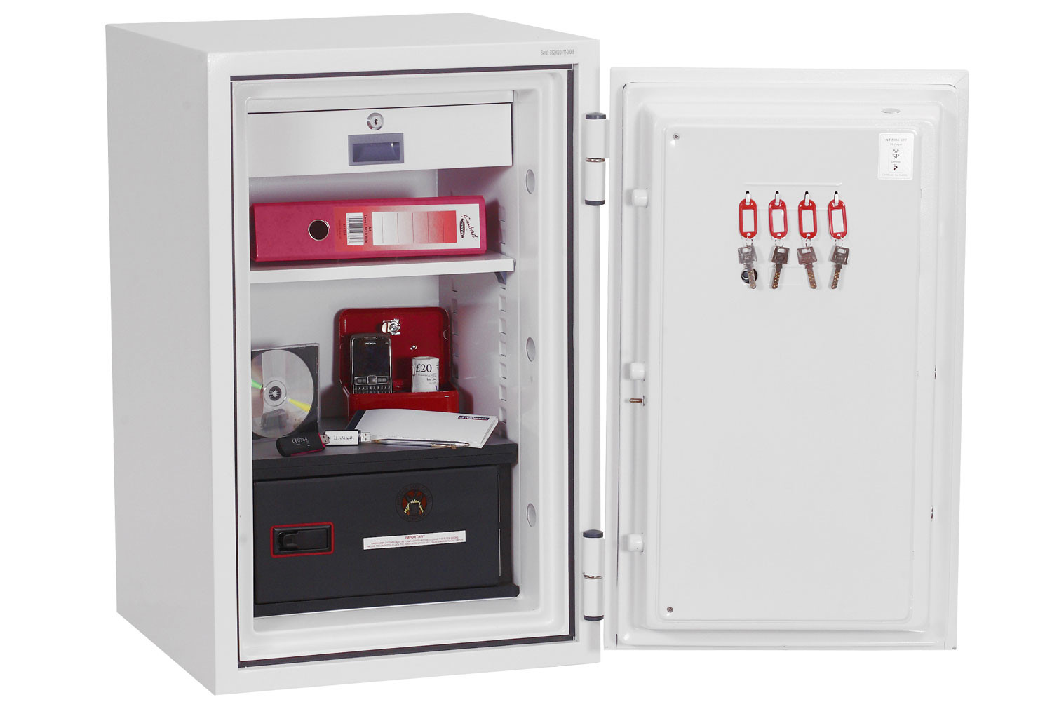 Phoenix Data Combi DS2502E Data Safe With Electronic Lock (84ltrs)